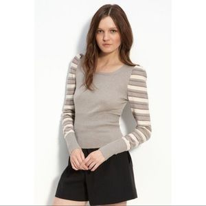 NWOT Marc by Marc Jacobs Natalie striped sweater